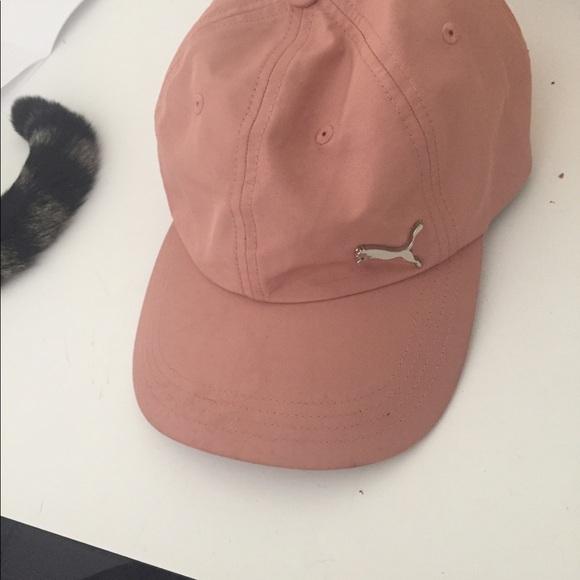 9bb2140fcb9 Puma EUC pink baseball cap. M 5ae2747fc9fcdfcb2b85da07